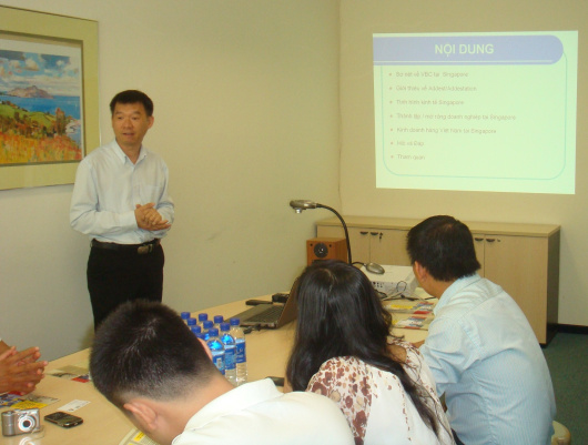 business workshop for Vietnam Market